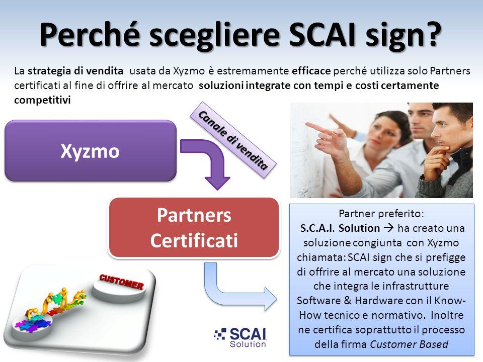 Perché scegliere SCAI sign