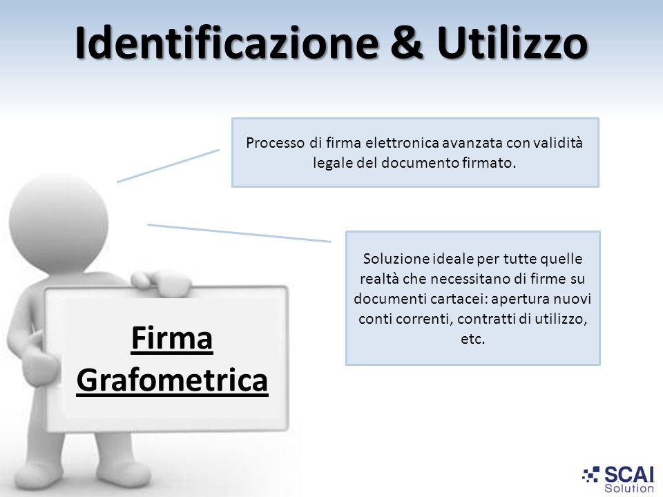 Identificazione & Utilizzo
