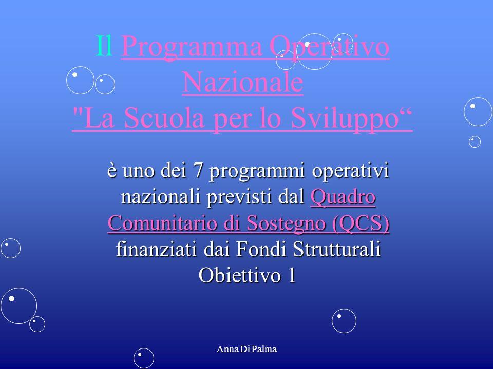 Il Programma Operativo Nazionale La Scuola per lo Sviluppo