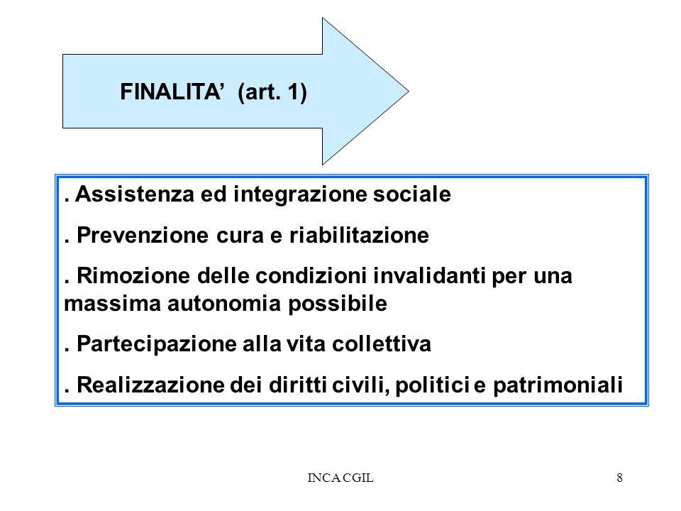 . Assistenza ed integrazione sociale
