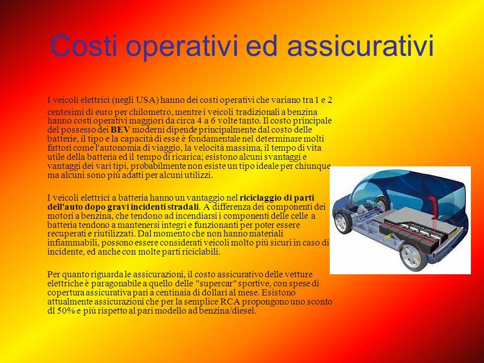 Costi operativi ed assicurativi