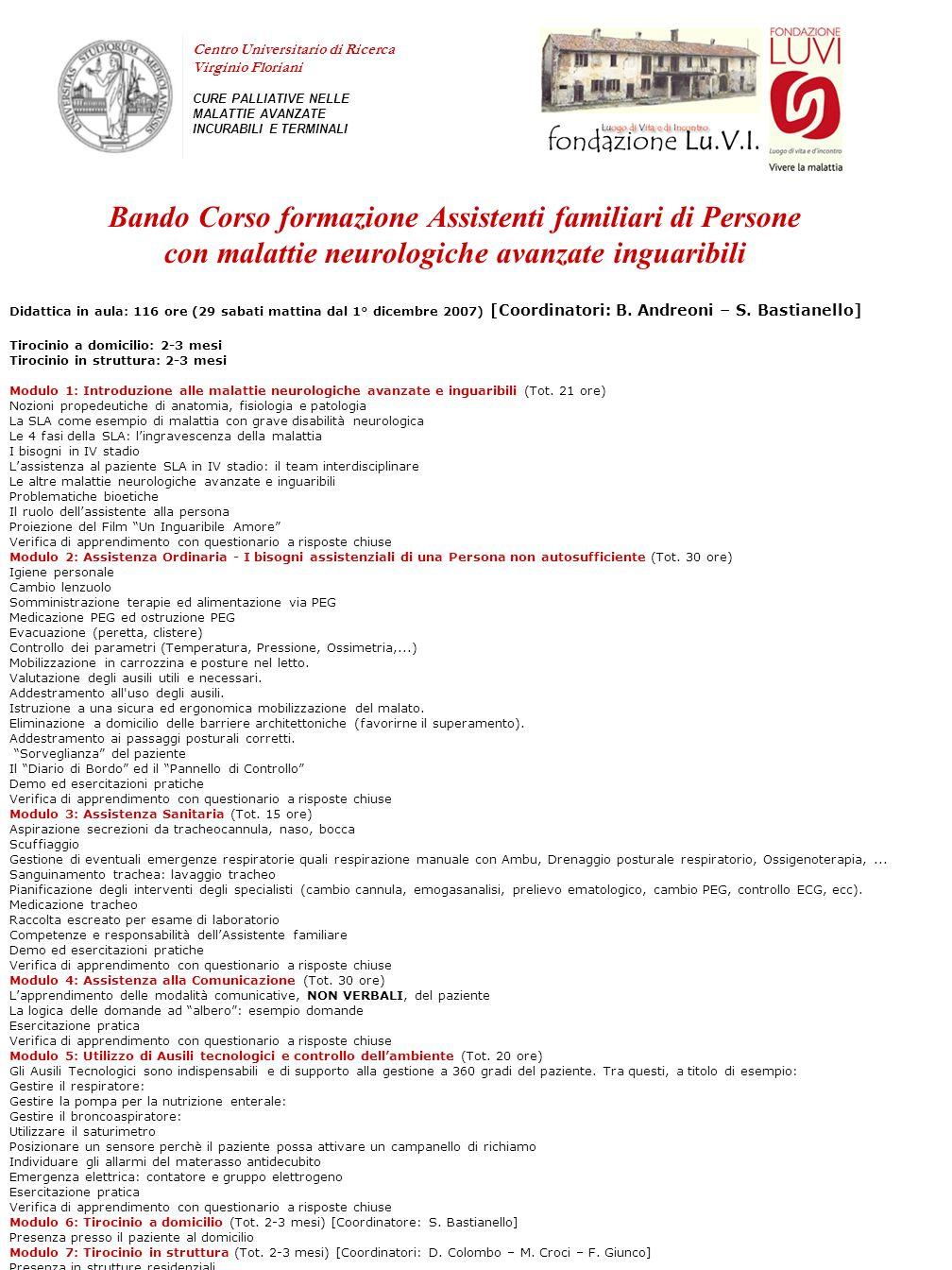 Centro Universitario di Ricerca Virginio Floriani