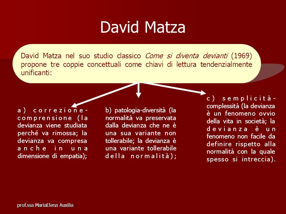 David Matza