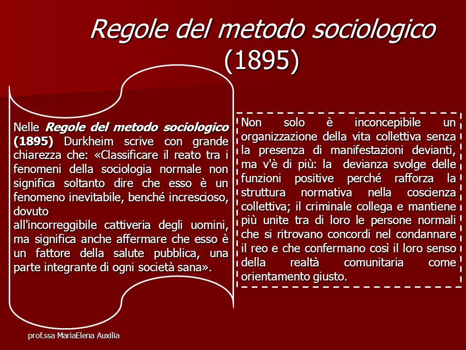 Regole del metodo sociologico (1895)