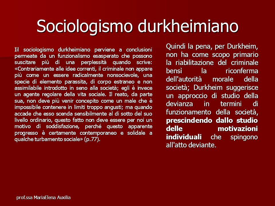 Sociologismo durkheimiano