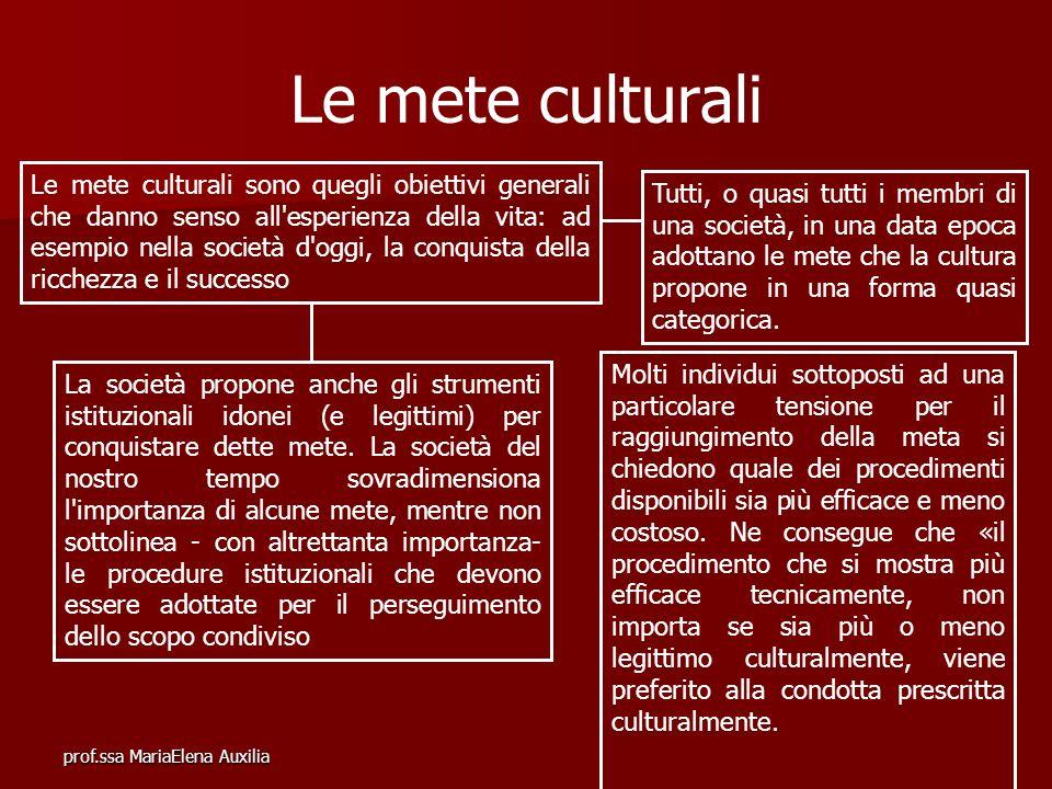 Le mete culturali