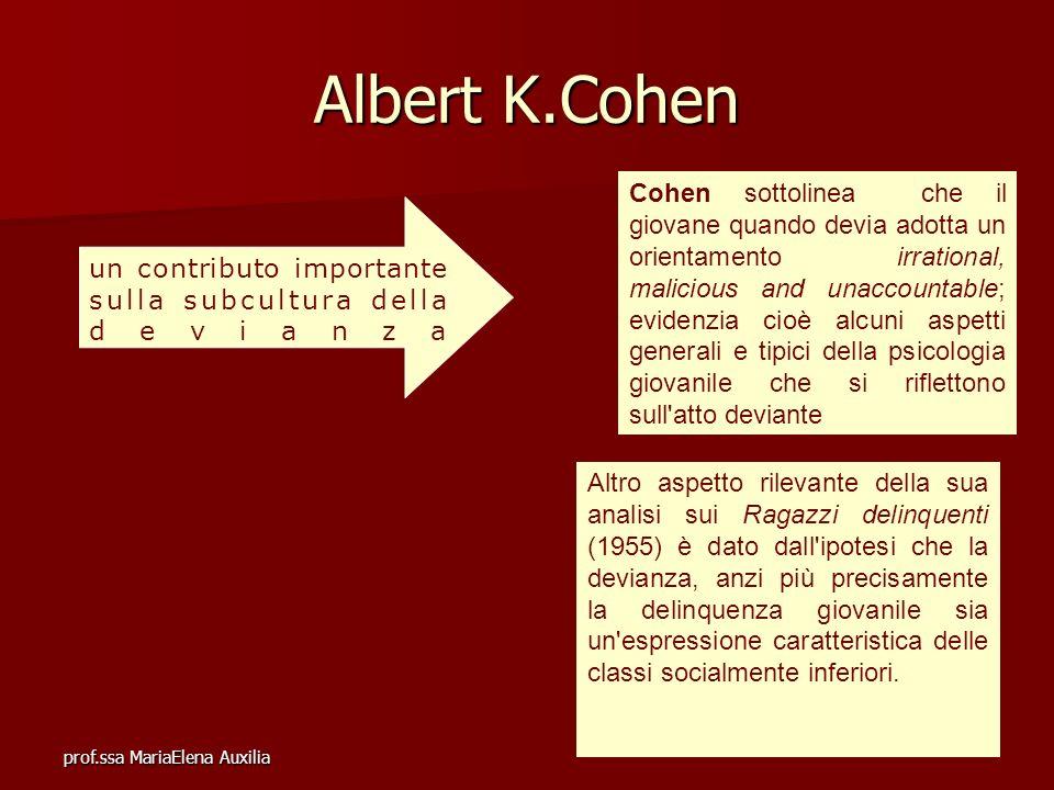 Albert K.Cohen