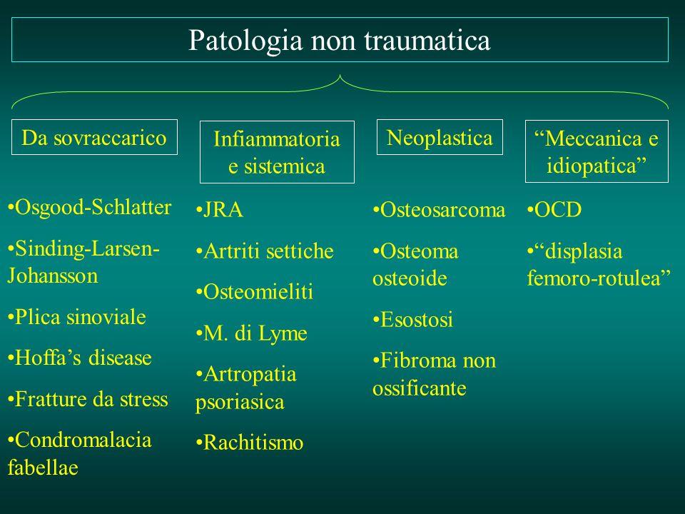 Patologia non traumatica
