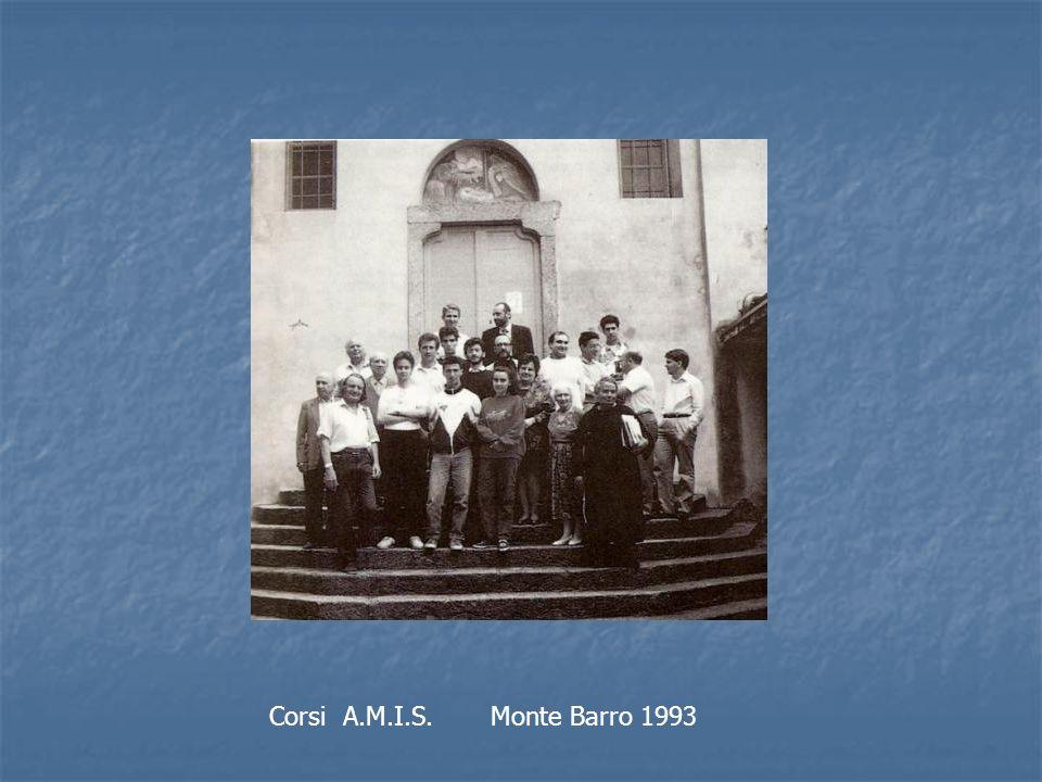 Corsi A.M.I.S. Monte Barro 1993