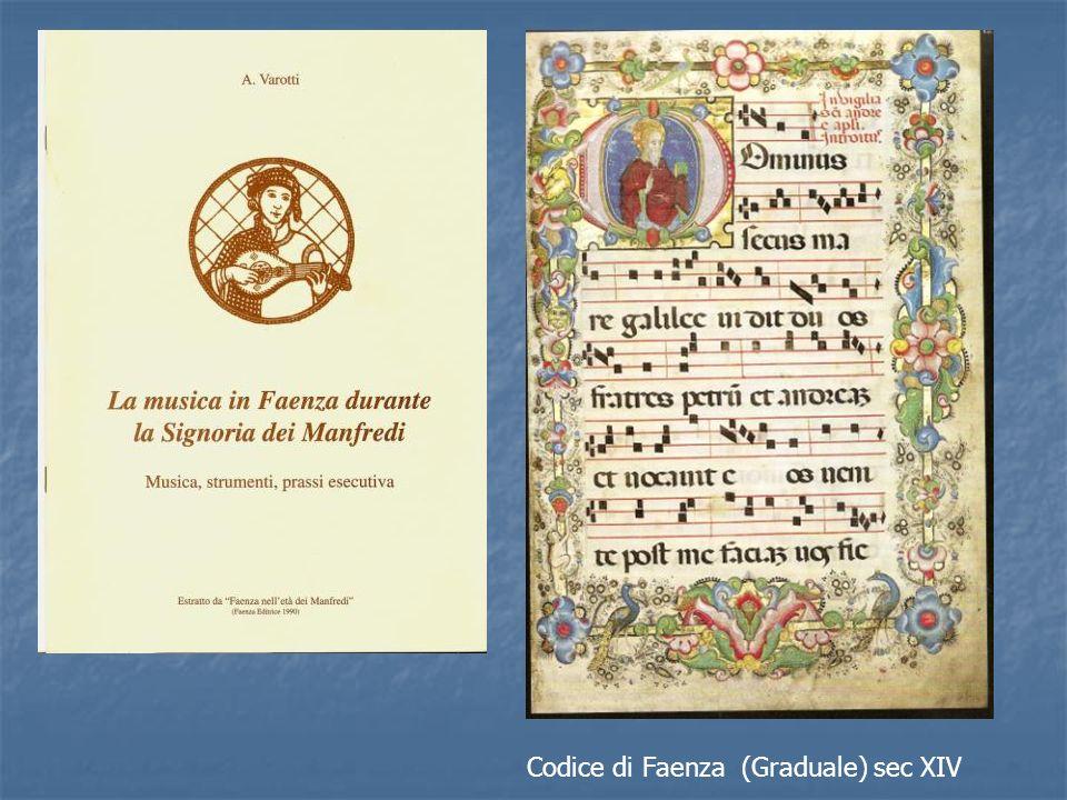 Codice di Faenza (Graduale) sec XIV
