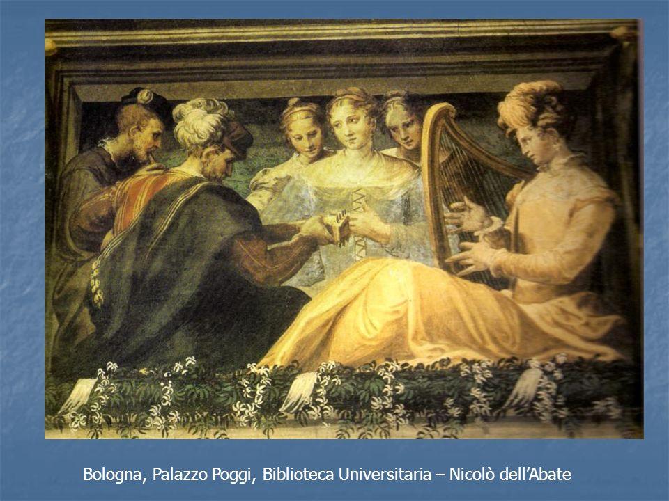 Bologna, Palazzo Poggi, Biblioteca Universitaria – Nicolò dell'Abate