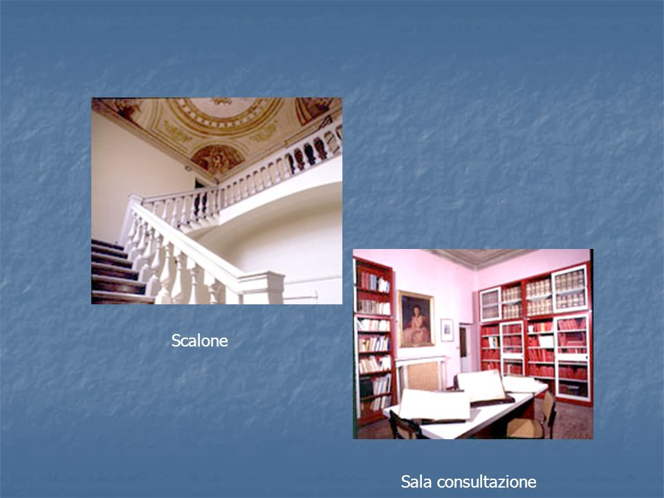 Scalone Sala consultazione