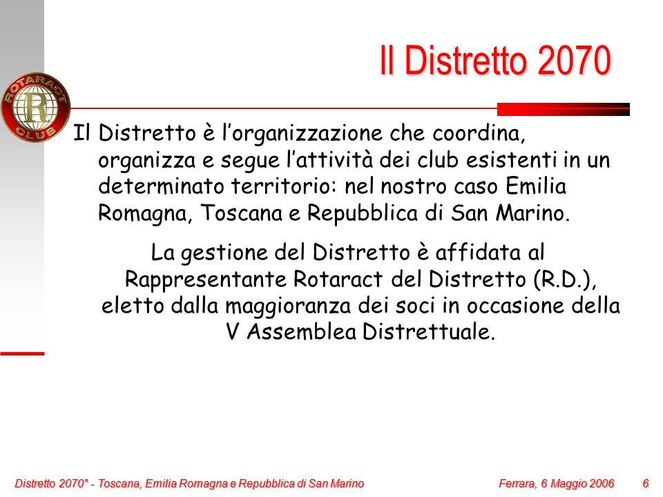 Il Distretto 2070