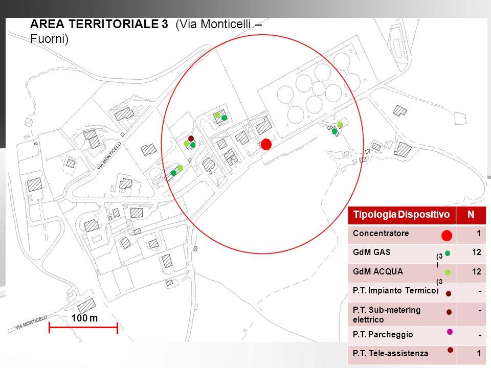 AREA TERRITORIALE 3 (Via Monticelli – Fuorni)