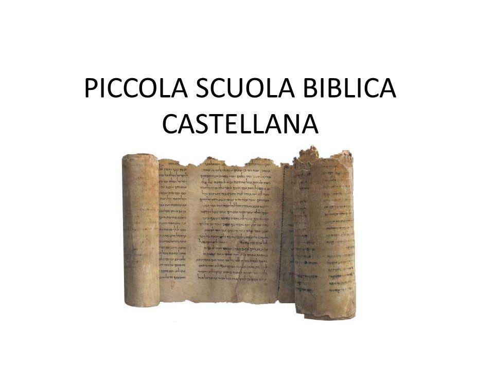 PICCOLA SCUOLA BIBLICA CASTELLANA