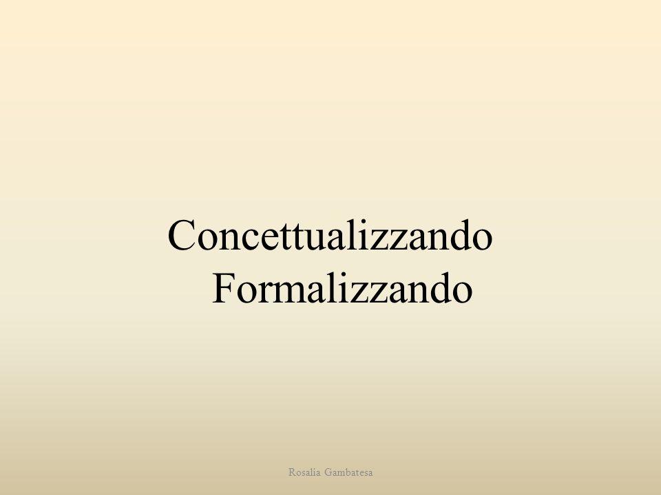 Concettualizzando Formalizzando