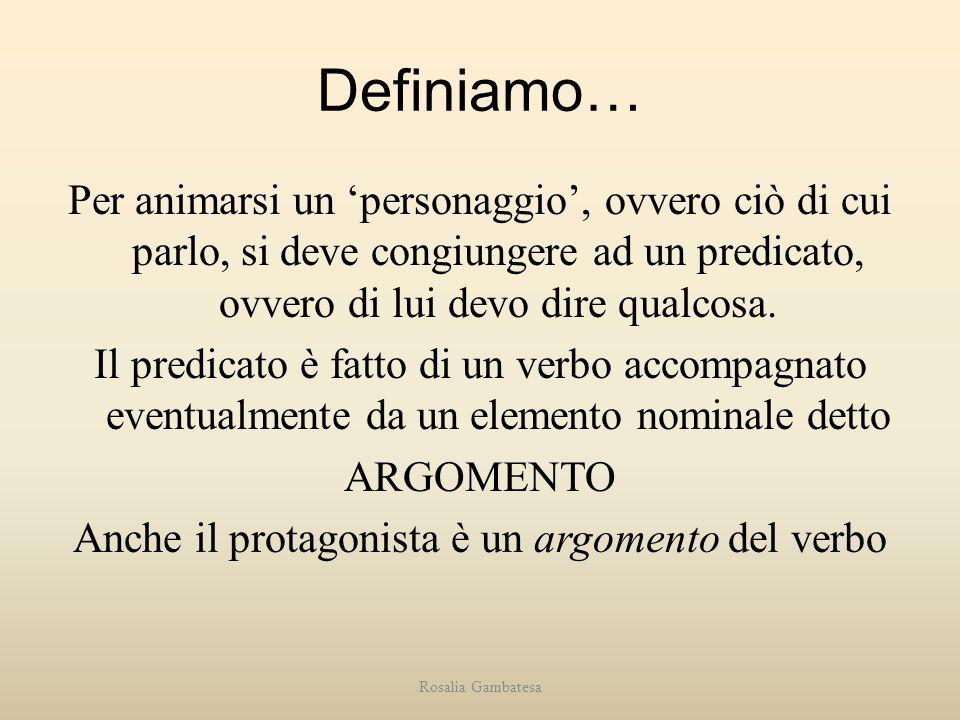Definiamo…