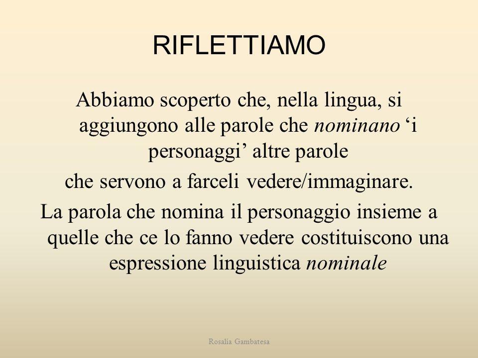 RIFLETTIAMO