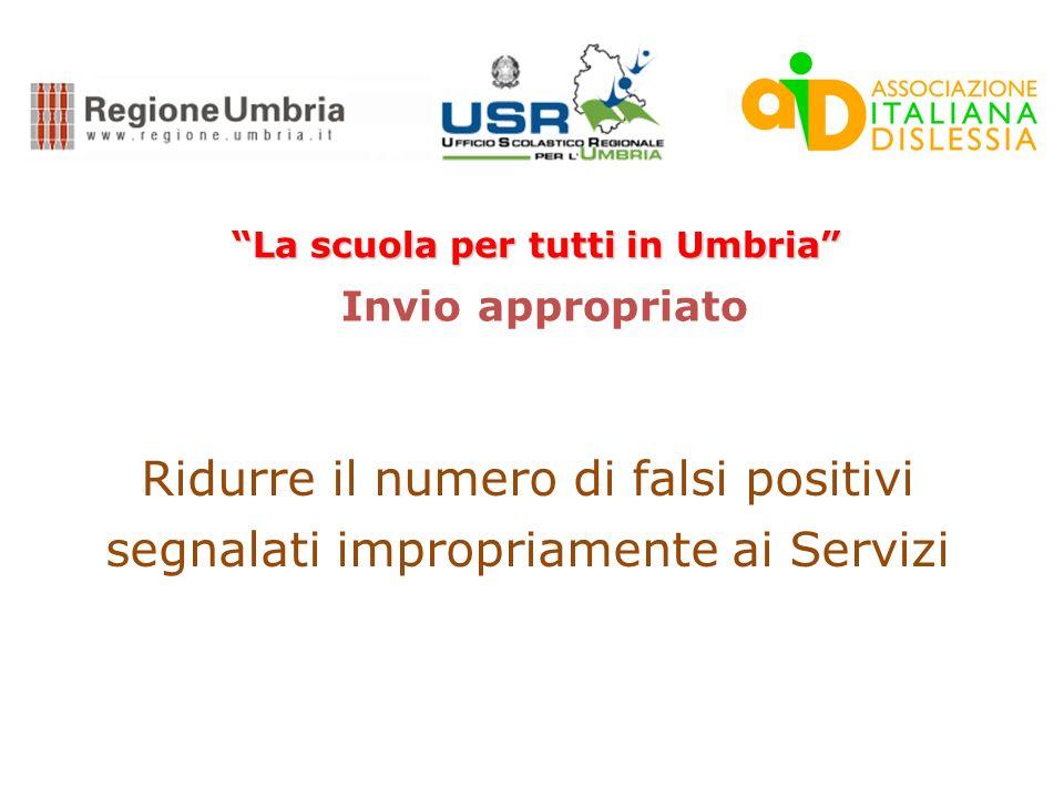 La scuola per tutti in Umbria