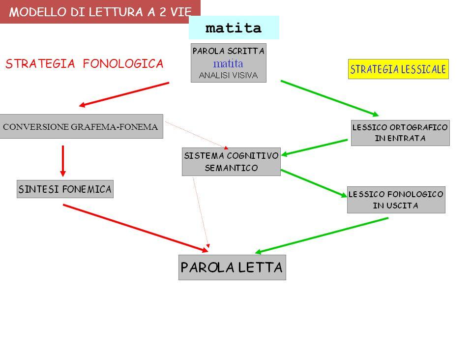 MODELLO DI LETTURA A 2 VIE