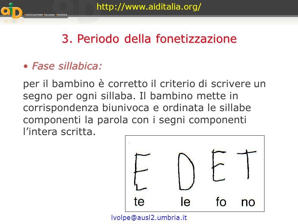 3. Periodo della fonetizzazione