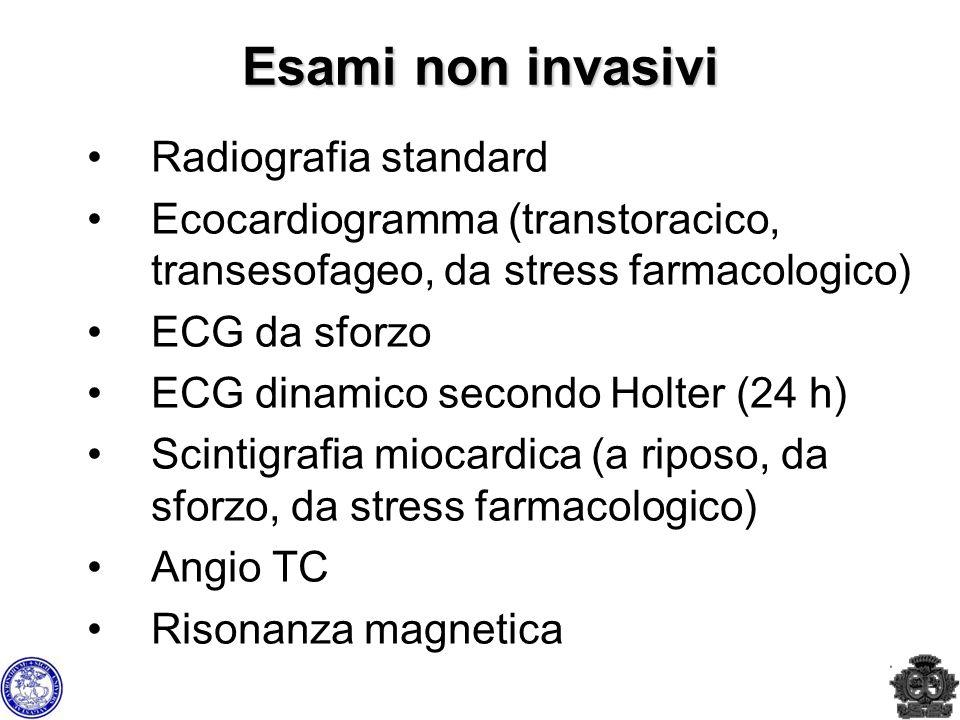 Esami non invasivi Radiografia standard