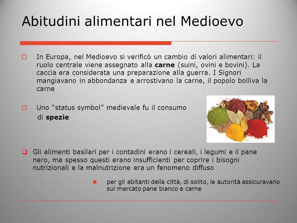 Abitudini alimentari nel Medioevo