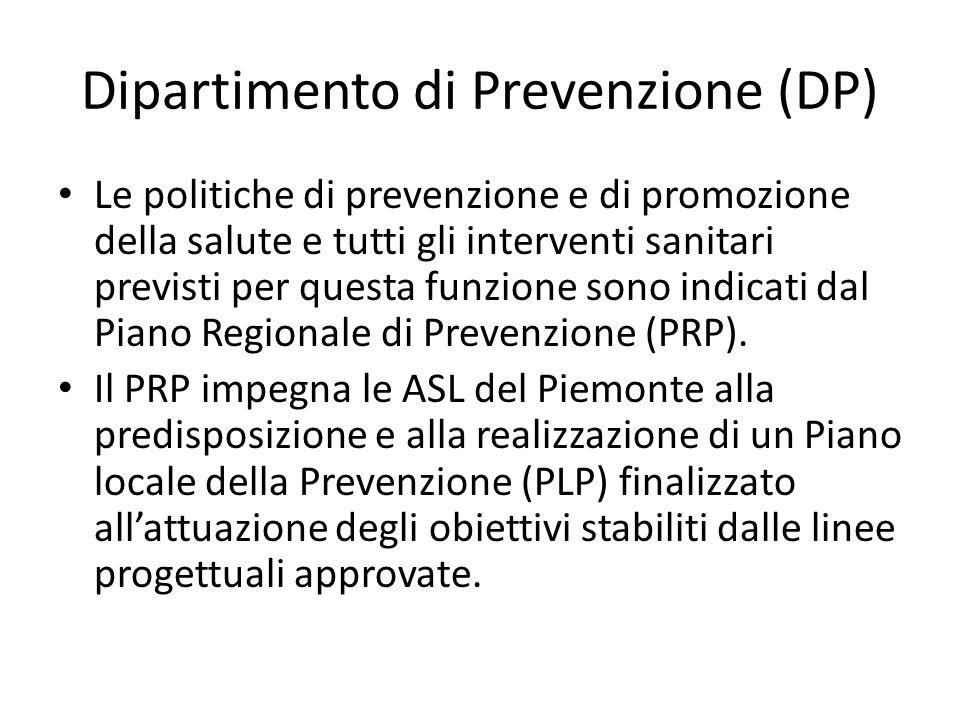 Dipartimento di Prevenzione (DP)