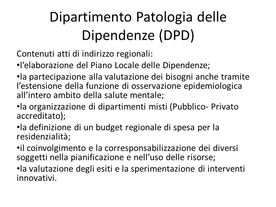 Dipartimento Patologia delle Dipendenze (DPD)