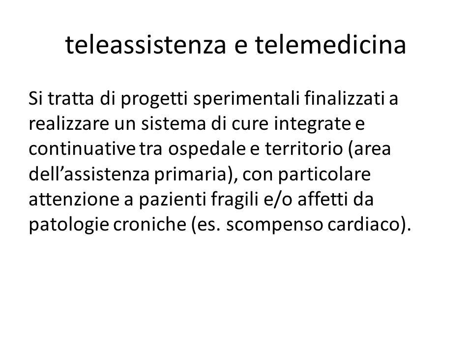 teleassistenza e telemedicina