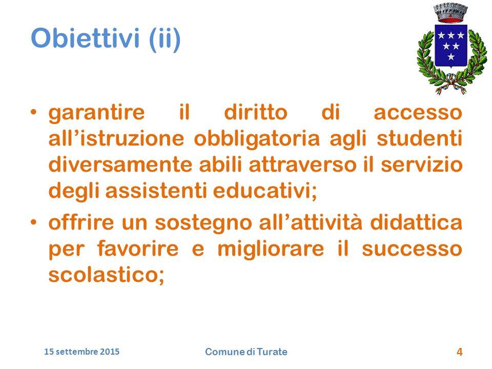 Obiettivi (ii)