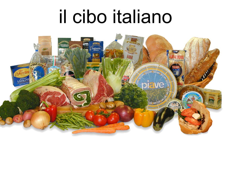 il cibo italiano