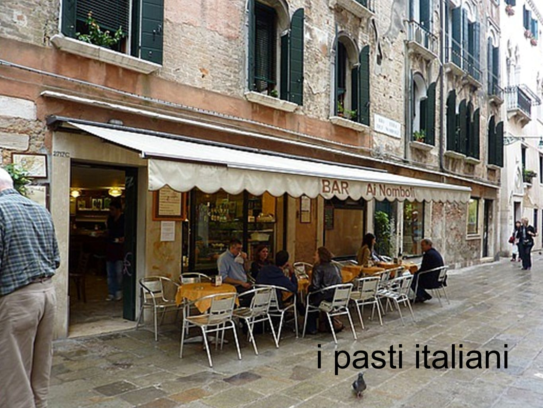 i pasti italiani