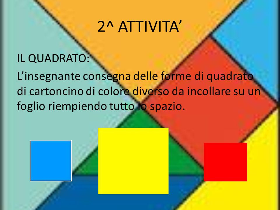 2^ ATTIVITA'