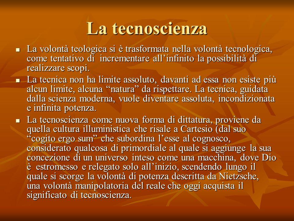La tecnoscienza