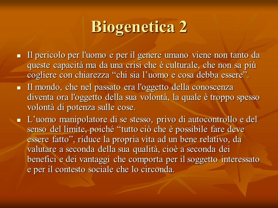 Biogenetica 2