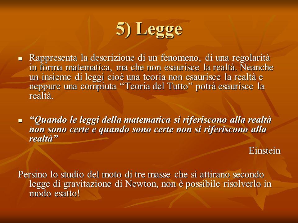5) Legge