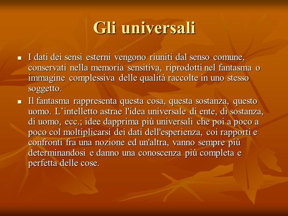 Gli universali