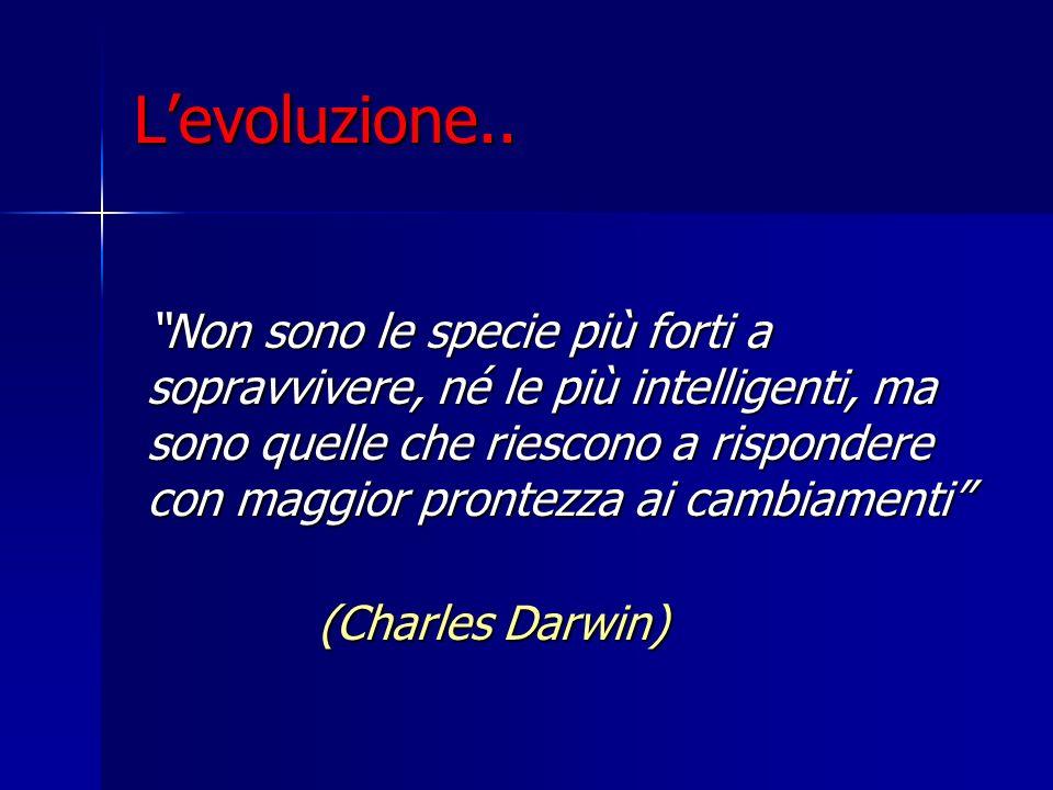L'evoluzione..
