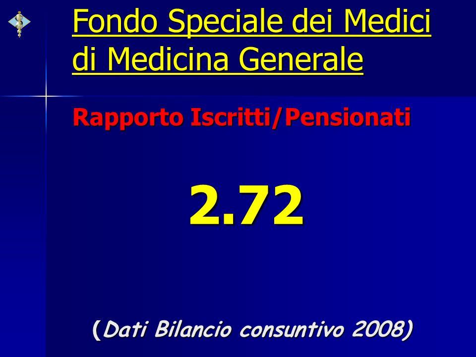 2.72 Fondo Speciale dei Medici di Medicina Generale