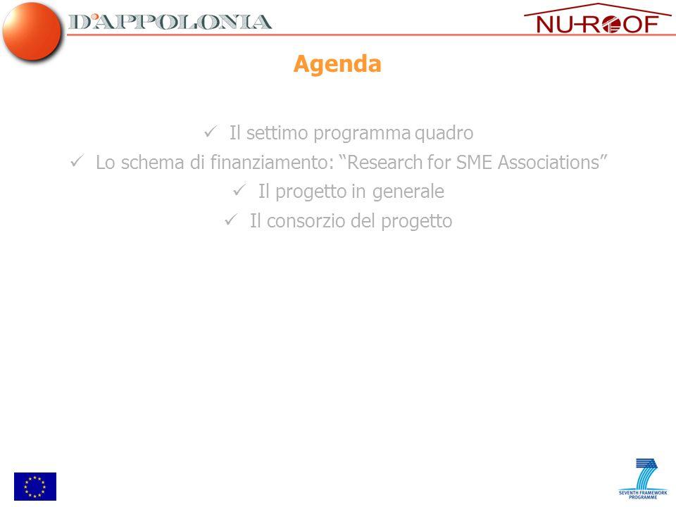 Agenda Il settimo programma quadro