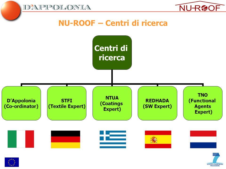 NU-ROOF – Centri di ricerca
