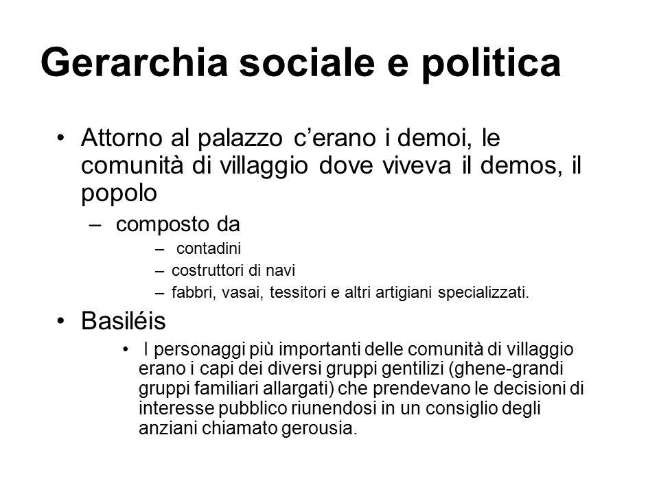 Gerarchia sociale e politica