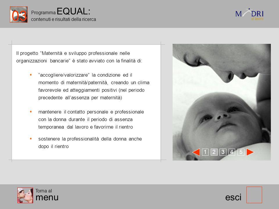 03 Programma EQUAL: contenuti e risultati della ricerca.