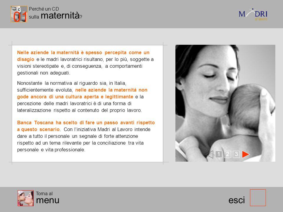 01 Perché un CD. sulla maternità