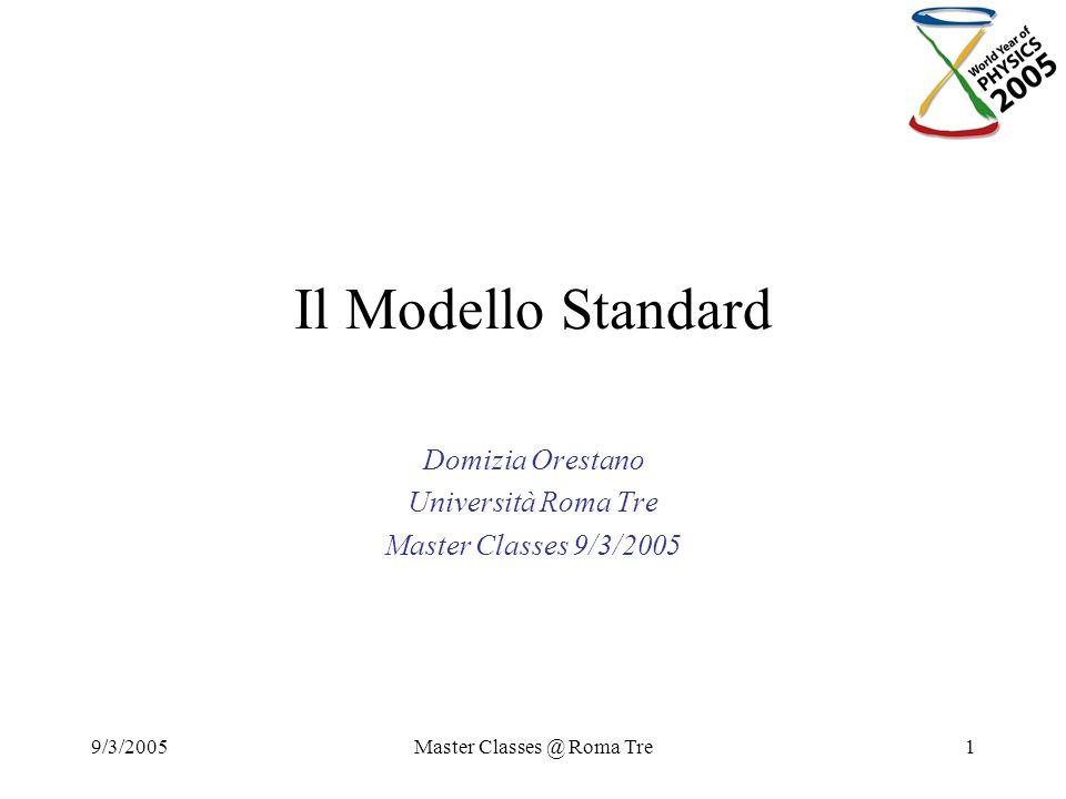 Domizia Orestano Università Roma Tre Master Classes 9/3/2005