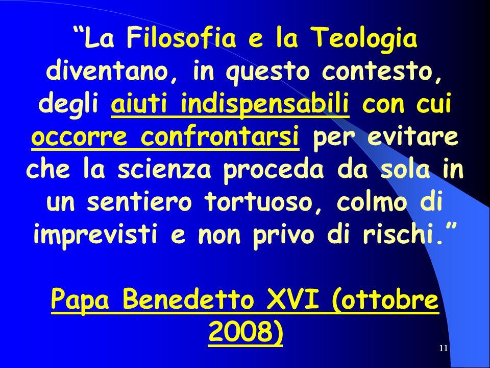 Papa Benedetto XVI (ottobre 2008)