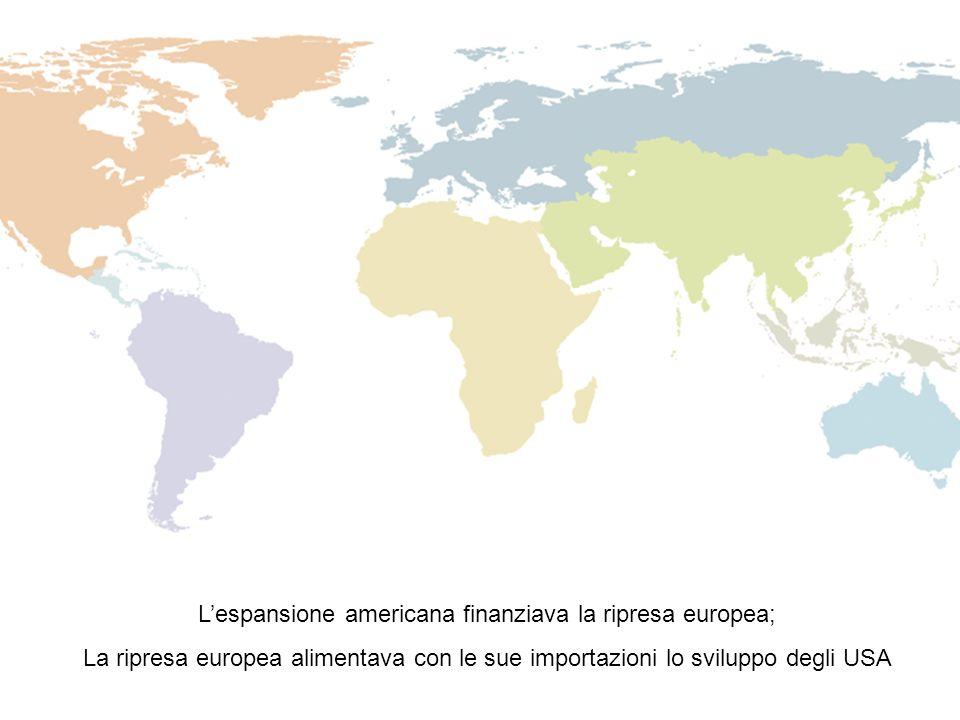 L'espansione americana finanziava la ripresa europea;