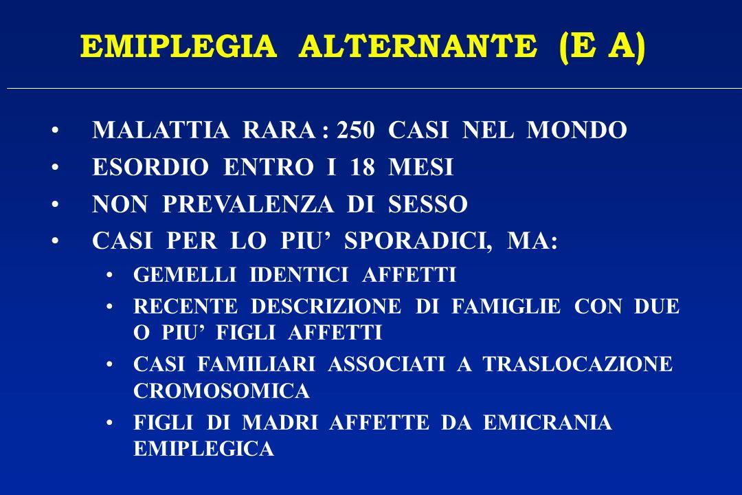 EMIPLEGIA ALTERNANTE (E A)