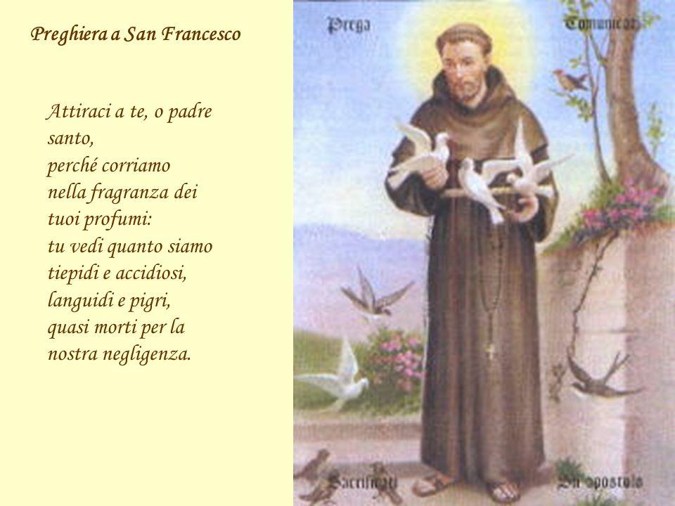 Preghiera a San Francesco